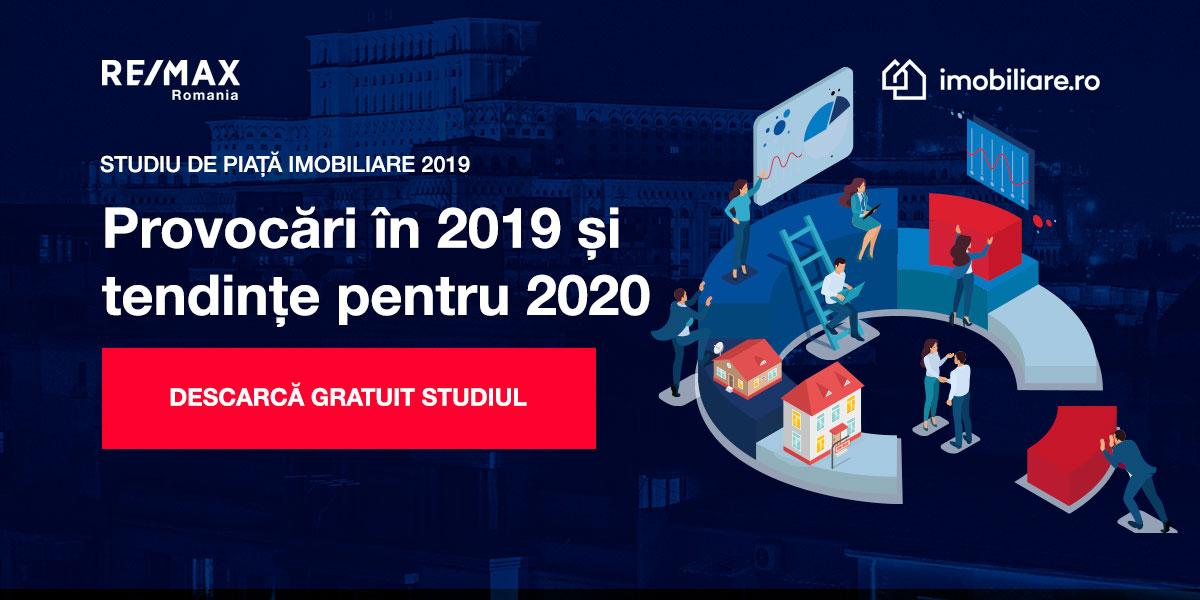 Studiu de piață imobiliare: Provocări in 2019 si tendințe pentru 2020